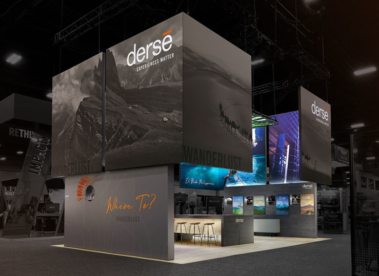 Derse exhibit booth exterior